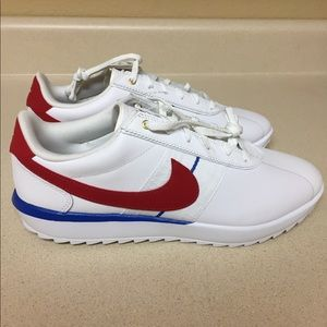Nike Classic Cortez Leather Women's Red/White/Blue